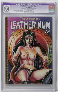 Tales From the Leather Nun #1 (Last Gasp, 1973) CGC Apparent NM 9.4 Slight (A) Off-white to white pages. Dave Sheridan c...