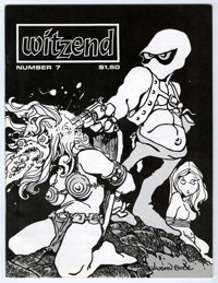 Witzend #7 (Wally Wood, 1970) Condition: NM-. Vaughn Bode cover and art, Bernie Wrightson, Steve Ditko, Roger Brand, Gra...
