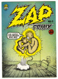 Silver Age (1956-1969):Alternative/Underground, Zap Comix #0 (Apex Novelties, 1967) Condition: VF/NM. Secondprinting. Robert Crumb art. Fogel's Underground Comix Price Gui...