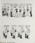"""Original Comic Art:Panel Pages, Dave Berg - Mad #230 and 268, Complete 5-page Story """"The Lighter Side of..."""" Original Art, Group of 2 (EC, 1982-87). Two com... (Total: 10 Items)"""