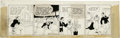 Original Comic Art:Comic Strip Art, Martin Branner - Winnie Winkle Daily Comic Strip Original Art, Group of 2 (Chicago Tribune, 1938). Will stays out late to te... (Total: 2 Items)