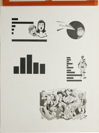 """Bob Clarke - Mad 84 Page Original Art, Group of 2 (EC, 1984). Two pages for the feature, """"The Mad Reader's Sex Surv..."""