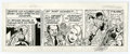 Original Comic Art:Comic Strip Art, Larry Lieber - The Amazing Spider-Man Daily Comic Strip Original Art, dated 2-13-96 (King Features, 1996). The Man-Monster p...