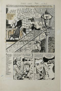 """Original Comic Art:Complete Story, Bob Powell - First Love Illustrated #71 Complete 5-page Story """"Love Walked Out"""" Original Art (Harvey, 1956). Bob Powell brou... (Total: 5)"""