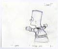 "Animation Art:Production Drawing, The Simpsons - ""Bart Simpson"" Preliminary Animation DrawingOriginal Art, Group of 5 (Twentieth Century Fox, 1994). The many...(Total: 5 Items)"