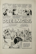 "George Tuska (attributed) - True-Bride-To-Be Experiences #32, Complete 5-page Story ""Dreamgirl"" Original Art (..."
