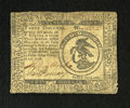 Colonial Notes:Continental Congress Issues, Continental Currency February 17, 1776 $3 Fine. A moderatelycirculated Continental note that appears to be Very Fine from t...