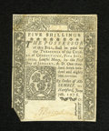 Colonial Notes:Connecticut, Connecticut June 7, 1776 5s Uncancelled Extremely Fine. Thetechnical grade on this note is Extremely Fine as it is bright a...