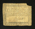 Colonial Notes:Maryland, Maryland August 14, 1776 $2 2/3 Fine. This is a very attractivenote with good signatures and a missing corner....