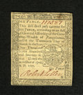 Colonial Notes:Pennsylvania, Pennsylvania April 10, 1777 6d About New. A very lightly circulatedexample of this small change note that has superb print ...