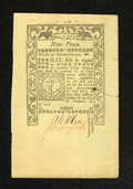 Colonial Notes:Rhode Island, Rhode Island May 1786 9d New. A wonderfully embossed and enormouslymargined example from this final issue which looks to be...