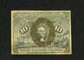 "Fractional Currency:Second Issue, Fr. 1246 10c Second Issue Choice New. A near gem example of this scarcer variety with ""S-18-63"" surcharges that has some gen..."