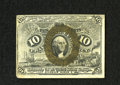 Fractional Currency:Second Issue, Fr. 1249 10c Second Issue Choice About New. No real folds are seen on this fiber paper note which has bright bronze overprin...