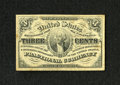 Fractional Currency:Third Issue, Fr. 1226 3c Third Issue Extremely Fine. A lightly circulated example of this light background note that has excellent margin...