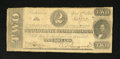 Confederate Notes:1863 Issues, T61 $2 1863. Edge wear and a couple of small holes are noticed.Very Good....