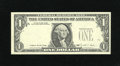 Error Notes:Missing Third Printing, Fr. 1914-D $1 1988 Federal Reserve Note. Extremely Fine-About Uncirculated.. The third printing is missing from this note th...