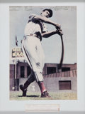 Baseball Collectibles:Photos, Ted Williams Signed Cut Signature Display....