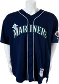 Baseball Collectibles:Uniforms, 2001 Ichiro Suzuki Game Worn Seattle Mariners Rookie Jersey....
