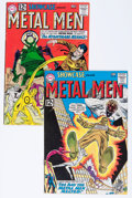 Silver Age (1956-1969):Miscellaneous, Showcase #38 and 40 Metal Men Group (DC, 1962).... (Total: 2 ComicBooks)