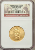 Modern Issues, 2007-W $10 Madison MS70 NGC. Ex: Kukk Collection. NGC Census: (0).PCGS Population (206). Numismedia Wsl. Price for proble...