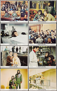 """Escape from the Planet of the Apes (20th Century Fox, 1971). Lobby Card Set of 8 (11"""" X 14""""). Science Fiction..."""