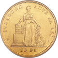 Chile, Chile: Republic gold 10 Pesos 1872,...