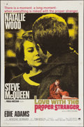 """Movie Posters:Romance, Love with the Proper Stranger (Paramount, 1964). One Sheet (27"""" X41""""). Romance.. ..."""