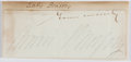 Autographs:Authors, Anna Brassey (1839-1887, English Writer and Traveller). ClippedSignature....
