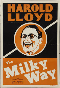"""The Milky Way (Paramount, 1936). Leader Press One Sheet (28"""" X 41""""). Comedy"""