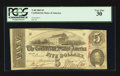 Confederate Notes:1863 Issues, T60 $5 1863 PF-31 Cr. 463.. ...