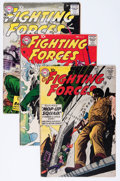 Silver Age (1956-1969):War, Our Fighting Forces Group (DC, 1958-64) Condition: Average VG-.... (Total: 14 Comic Books)