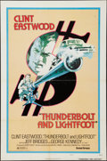 """Movie Posters:Crime, Thunderbolt and Lightfoot (United Artists, 1974). One Sheet (27"""" X41"""") Style D. Crime.. ..."""