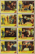 "Movie Posters:Crime, Al Capone (Allied Artists, 1959). Lobby Card Set of 8 (11"" X 14"").Crime.. ... (Total: 8 Items)"