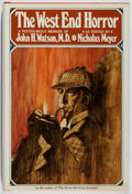 Books:Mystery & Detective Fiction, [Sherlock Holmes]. Nicholas Meyer. The West End Horror. Dutton, 1975. First edition, first printing. Toning and mild...