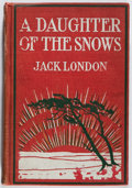 Books:Literature 1900-up, Jack London. A Daughter of the Snows. Lippincott, 1902.First edition, first printing. Hinges cracked. Spine darkene...