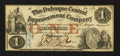 Obsoletes By State:Iowa, Dubuque, IA - The Dubuque Central Improvement Company $1 Feb. 1,1858. ...