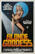"""Movie Posters:Adult, Blonde Goddess (Distribpix, 1982). One Sheet (27"""" X 41""""). Adult.. ..."""