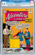 Adventure Comics #278 (DC, 1960) CGC VF- 7.5 Off-white to white pages