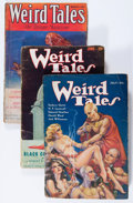 Pulps:Horror, Weird Tales - Robert E. Howard Group (Popular Fiction, 1933)Condition: Average VG-.... (Total: 4 Comic Books)