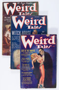 Pulps:Horror, Weird Tales - Robert E. Howard Group (Popular Fiction, 1936-39)Condition: Average VG-.... (Total: 6 Items)