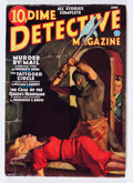 Pulps:Horror, Dime Detective Magazine June '36 (Popular, 1936) Condition: VG+....