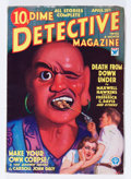 Pulps:Detective, Dime Detective Magazine V2#3 (Popular, 1933) Condition: VG/FN....