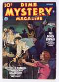 Pulps:Horror, Dime Mystery Magazine - September '35 (Popular, 1935) Condition:VG+....