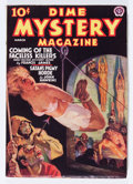 Pulps:Horror, Dime Mystery Magazine - March '38 (Popular, 1938) Condition: VG/FN....