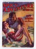 Pulps:Adventure, Spicy Adventure Stories - October '37 (Culture, 1937) Condition: GD/VG....