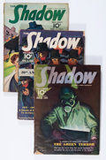 Pulps:Detective, Shadow Group (Street & Smith, 1941-42) Condition: AverageVG.... (Total: 4 Comic Books)