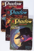 Pulps:Detective, Shadow Group (Street & Smith, 1936-38) Condition: AverageVG+.... (Total: 7 Items)