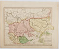 Books:Prints & Leaves, Lot of 4 Hand-Colored Maps of the Mediterranean Area Circa 1808.From Atlas Classica Being a Collection of Maps of the Co...