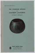 Books:Americana & American History, Eugene N. Anderson, Jr. The Chumash Indians of SouthernCalifornia. Malki Museum, 1968. First edition, first printin...
