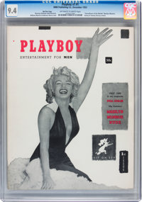 Playboy #1 Red Star Copy (HMH Publishing, 1953) CGC NM 9.4 Off-white to white pages
